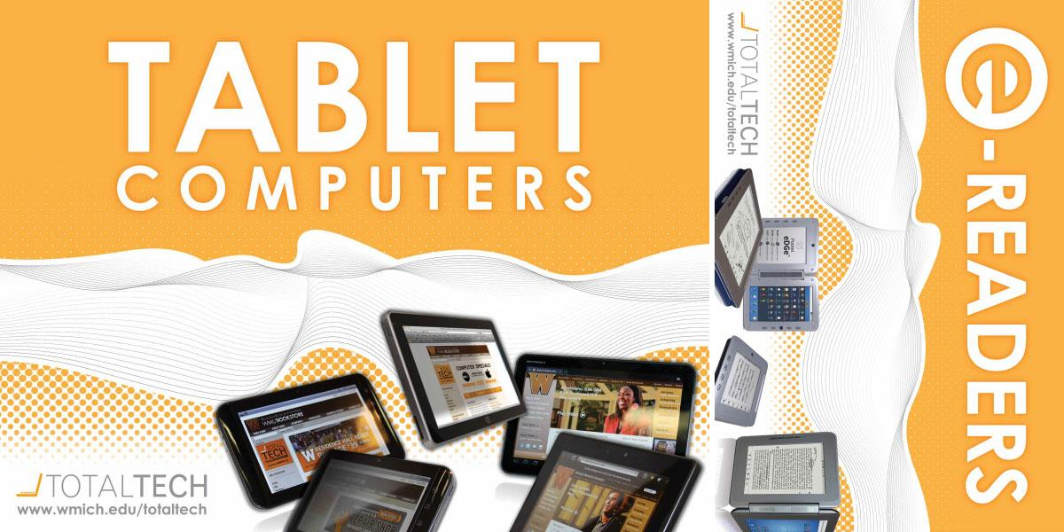 TotalTECH Tablet Ebook Signage